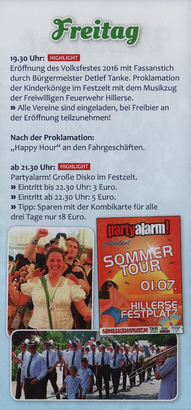 Volksfest Hillerse