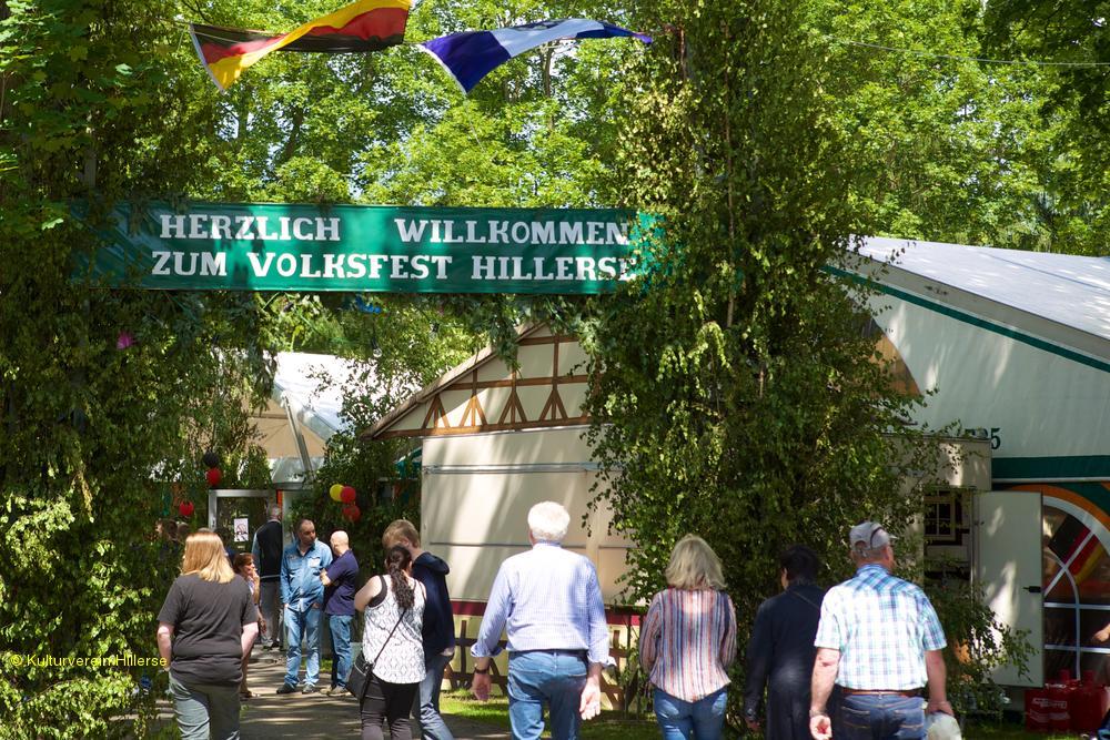 Hillerser Volksfest 2016